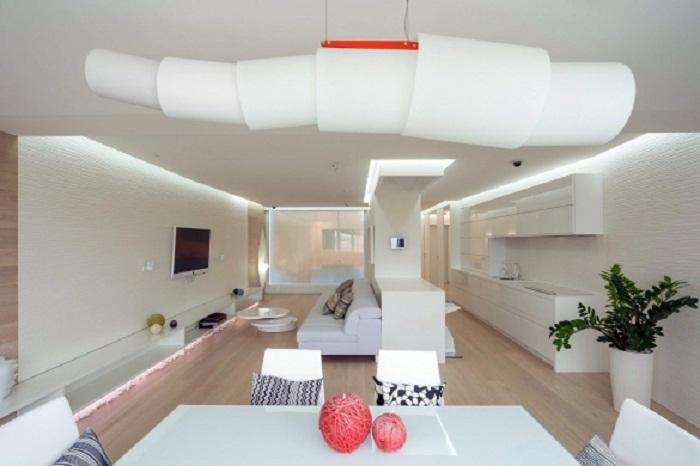 Вариант создания квартиры-студии.