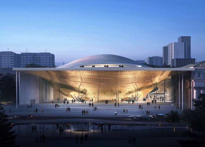 Проект нового зала филармонии от Zaha Hadid Architects (Екатеринбург, Россия).