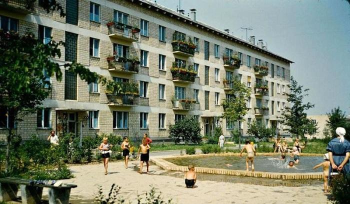 Самое желанное жилье в середине прошлого века.