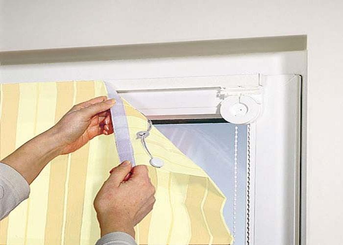 Очень быстро и удобно вешать шторы с помощью такого крепления.