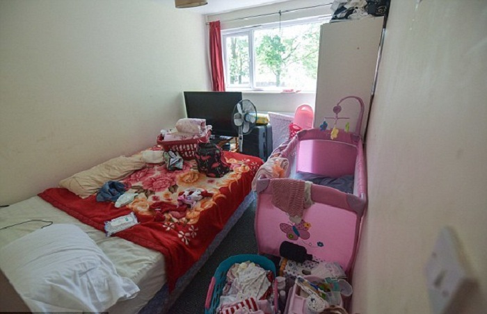 Спальня для девочек.