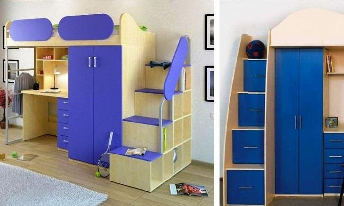 Двухъярусные мебельные стенки – идеальный выбор для разумной организации мест хранения.