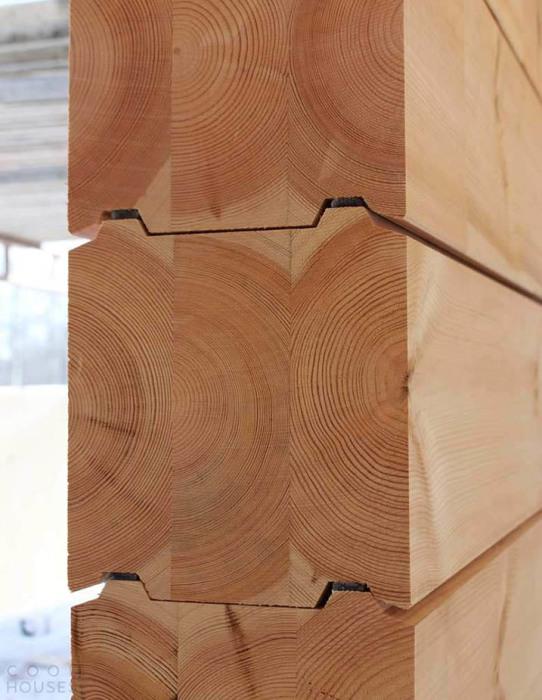 Бревна для строительства финских срубов создают по особой методике. | Фото: desibuilt.ru.