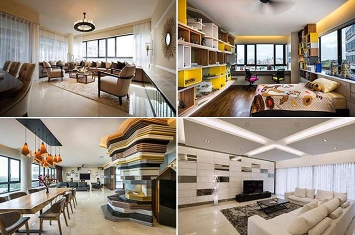 В жилом комплексе все рассчитано для комфортного проживания и отдыха, вне зависимости от квадратуры квартиры («Interlace», Сингапур). | Фото: mirinteresen.net