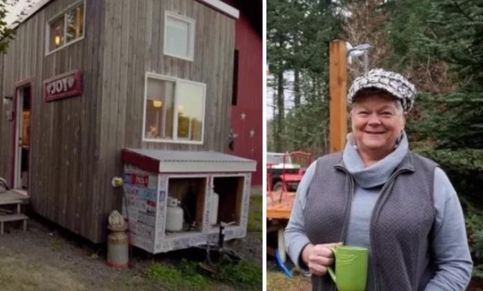 Разработкой проекта и строительством дома «My Empty Nest» женщина занималась сама.   Фото: nastroy.net