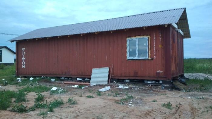 Вот такой домик уже начал вырисовываться. | Фото: pikabu.ru.