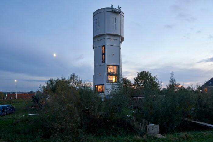 Проект трансформации водонапорной башни стал победителем в конкурсе Watertowerprize-2020 (Нидерланды). | Фото: dymontiger.livejournal.com.