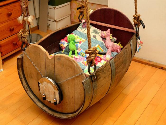 Место для игры и хранения игрушек.