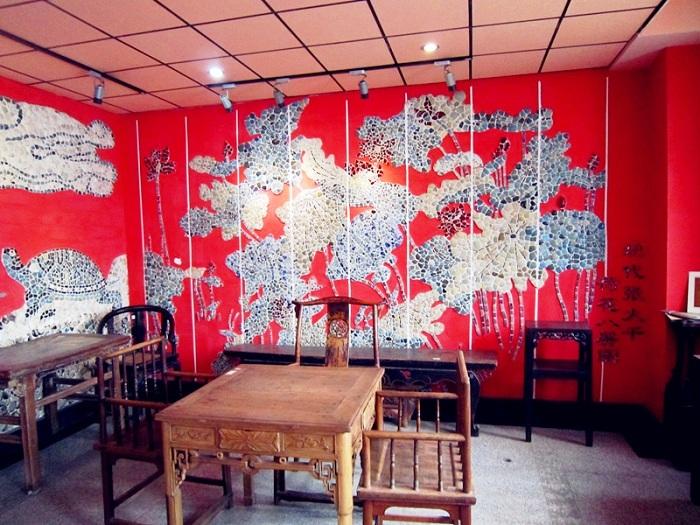 Интерьер Фарфорового дома (Tianjin, Китай).