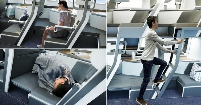 В новой разработке предусмотрена полная свобода действий для пассажиров эконом-класса. | Фото: republic.co/ © Zephyr Aerospace.