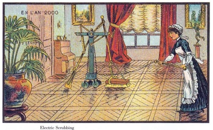 Робот-уборщик – мечта всех хозяек любого времени и века. | Фото: interestingengineering.com.