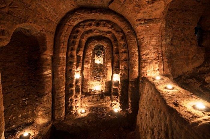 Подземный храм был обнаружен в Шропшире (Великобритания).