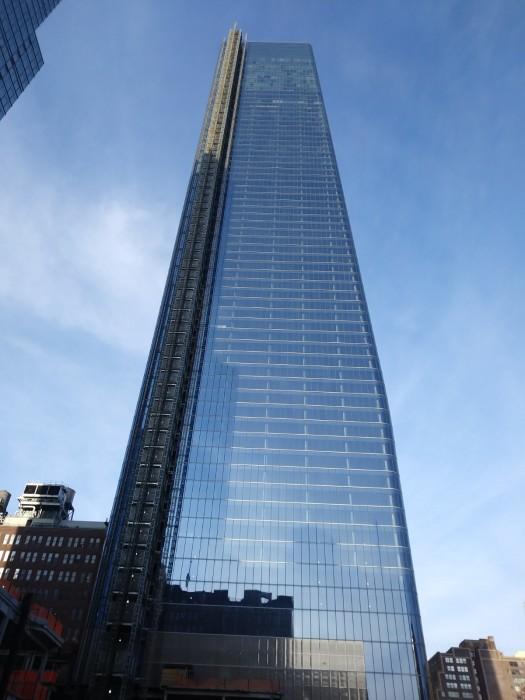 303 м небоскреб One Manhattan West украшает западный район Манхэттена (Нью-Йорк, США). | Фото: commons.wikimedia.org.