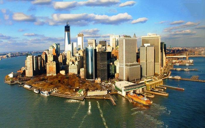 Манхэттен – экономический и культурный центр США.