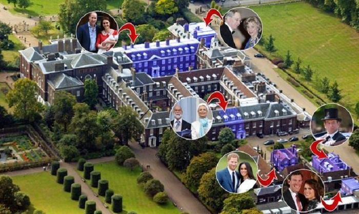 Королевские апартаменты Кенсингтонского дворца. | Фото: newsroyal.ru.