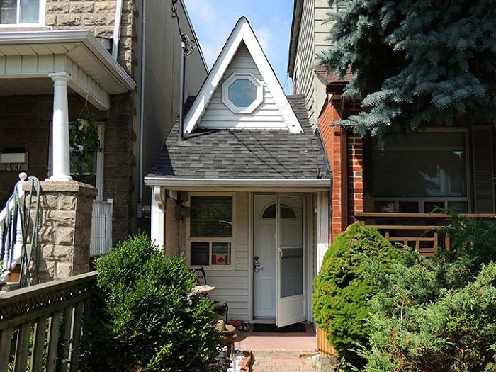 Площадь самого маленького дома в Канаде составляет 28 кв м.
