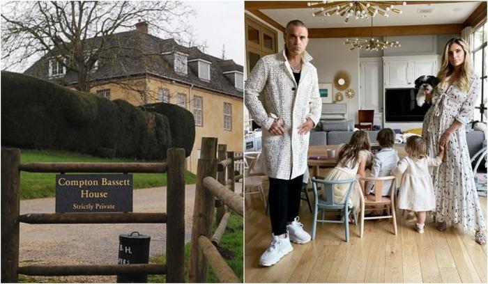 Звездные супруги Робби Уильямс и Айда Филд решили продать имение, где частенько отдыхали от городской суеты (Compton Bassett House, Великобритания).