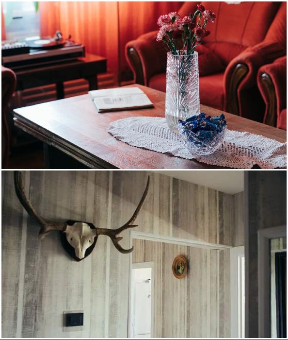 Традиционные элементы декора в советских квартирах.