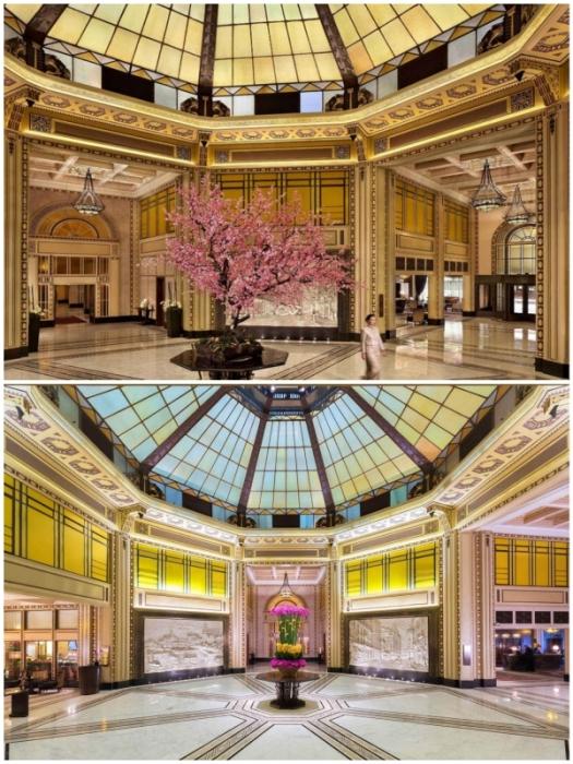 Отель Fairmont Peace – один из самых старинных отелей Китая и прекрасное место для знакомства с историей Шанхая.