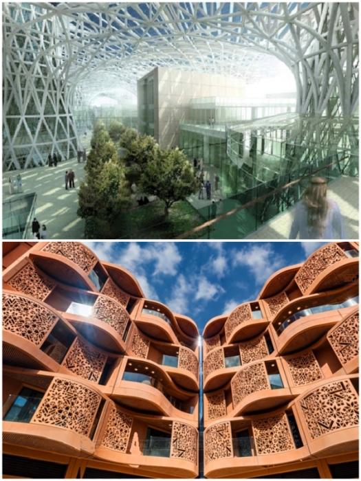 На данный момент город-будущего существует лишь на красивых картинках (Masdar, ОАЭ).