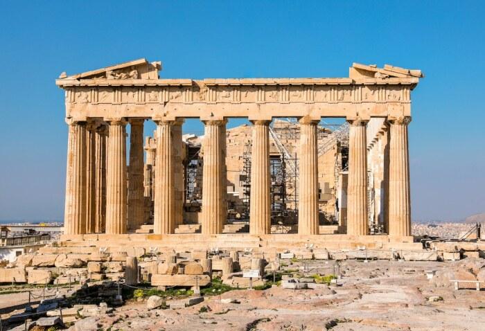 Война между Османской империей и «Священной лигой», оказалась самой разрушительной для Парфенона (Афины, Греция). | Фото: awesomeworld.ru.
