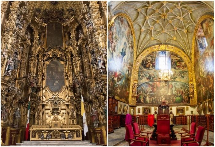 Mexico City Metropolitan Cathedral является важной частью культуры Мексики, в нем часто проходят важные культурные и политические мероприятия.