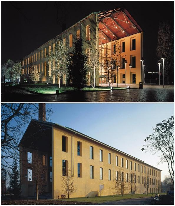 Промышленный комплекс сахарного завода Eridania превратили в прекрасный концертный зал Auditorium Paganini (Парма, Италия).