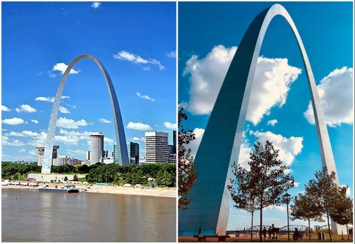Gateway Arch in St. Louis – памятник западной экспансии США, посвященный американскому народу (штат Миссури, США).