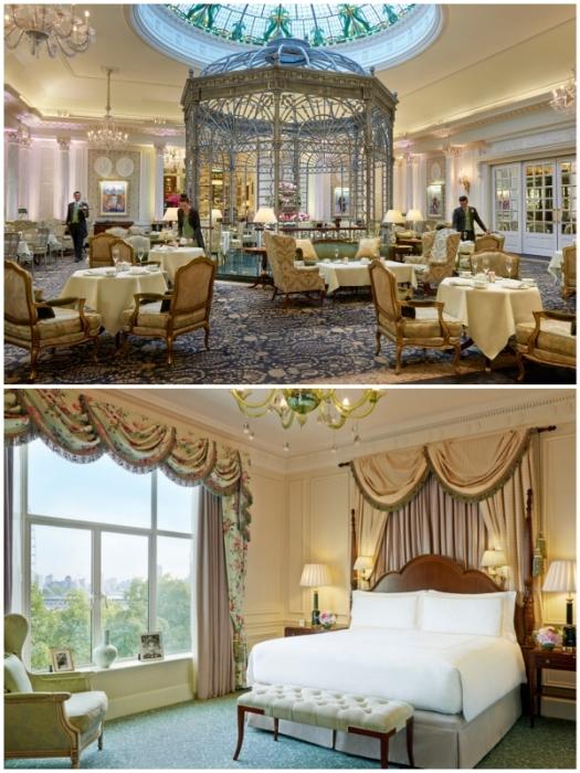Изысканной роскошью пропитан каждый уголок фешенебельного отеля (The Savoy, Лондон).