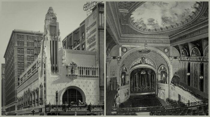 Так выглядел первый кинотеатр в Лос-Анджелесе, предназначенный для звукового (20-е годы прошлого века, Tower Theater).   Фото: apple.com.