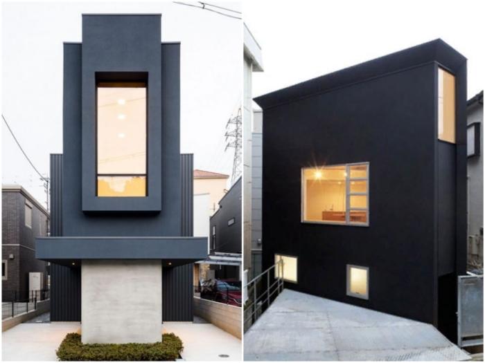 В Японии каждый клочок земли используется под строительство жилья.