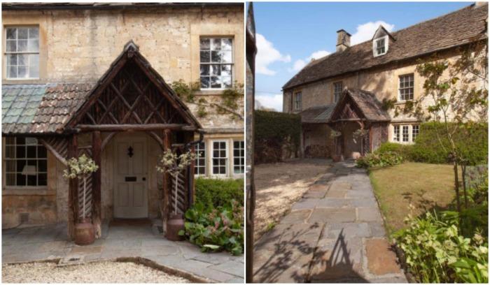 Старинный особняк сохранил первозданный вид, который можно лишь поддерживать, а перестраивать нельзя (The Old Dairy, Великобритания).
