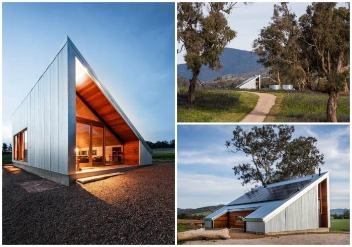 За стенами жестяного сарая прячется идеальное место для отдыха вдали от цивилизации (Gawthornes Hut, Австралия).