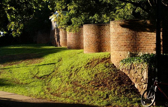Изящные извилистые заборы делают не для красоты, а для экономии средств и материала. | Фото: twistedsifter.com/ twizz.ru.