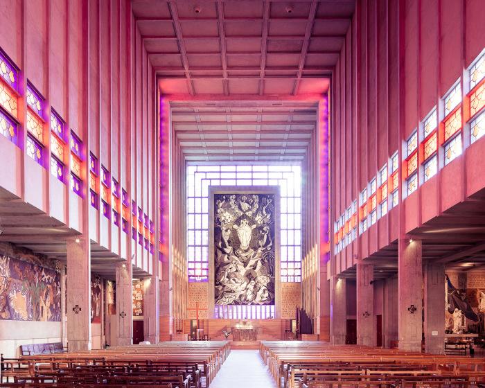 Церковь Сен-Жак-ле-Мажор, Монруж, Франция (Erik Bagge, 1940). | Фото: ©Thibaud Poirier.