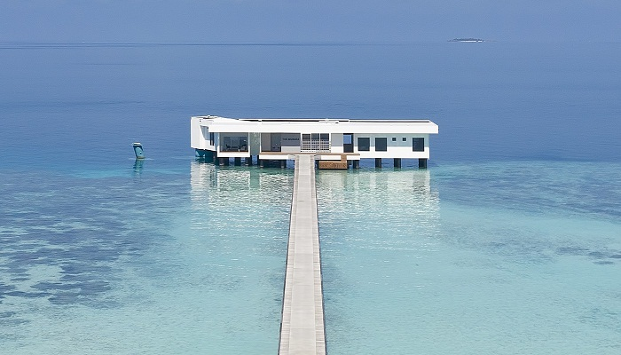 Двухпалубная подводная вилла Muraka (Мальдивы).