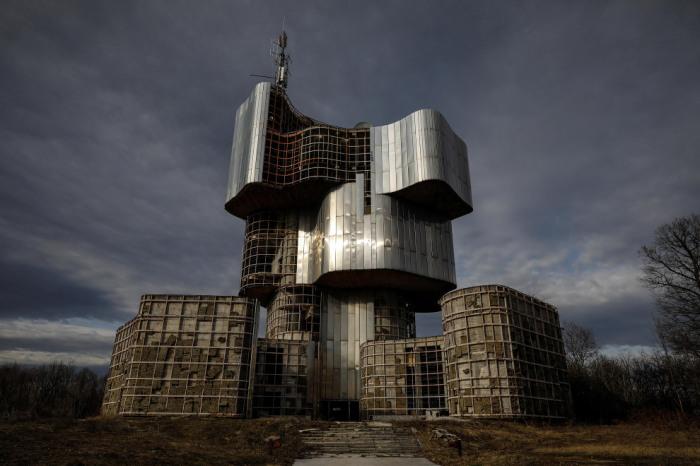 Памятник павшим во Второй мировой войне партизанам на Петровой Горе (1979 -1981 гг., Хорватия). | Фото: Marko Djurica.