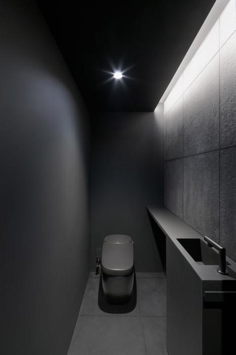 Ванные комнаты и санузлы спрятали в конструкцию скульптурной лестницы («Stairway House», Токио). | Фото: worldarchitecture.org.