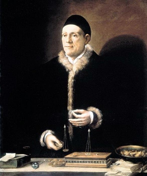 Великий меценат Якоб Фуггер (1459-1525).