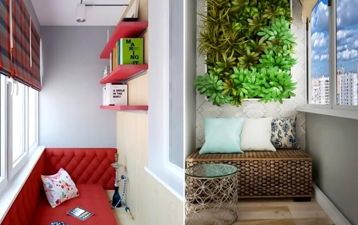 Если совсем нет места можно обойтись мебелью со скрытыми системами хранения и навесными полками. | Фото: youtube.com/ ДИЗАЙН и ИНТЕРЬЕР.