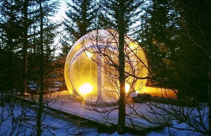 В самом необычном отеле нет обслуживающего персонала (The 5 Million Star, Исландия).
