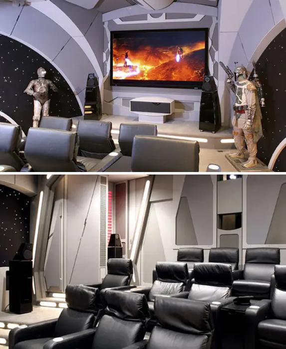 Почитатели «Звездных войн» обзавидуются. | Фото: boredpanda.com.