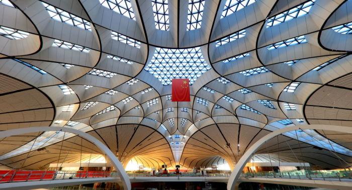 Открытие масштабного аэропорта-хаба состоится в канун 70-й годовщины образования КНР («Дасин», Пекин). | Фото: sputnik-georgia.ru.