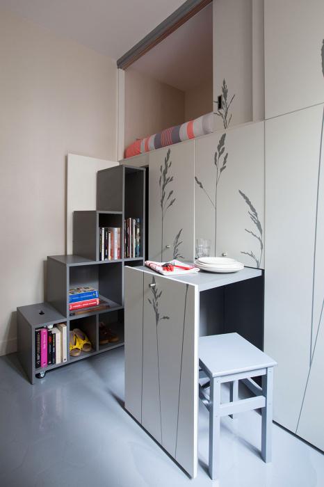 Стоит выдвинуть пару тройку ящиков, и комната становится комфортной и уютной. | Фото: sweet-home-il.livejournal.com.