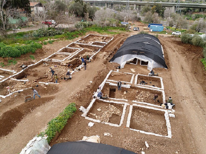На территории найдены не только жилые дома, но и культовые сооружения и общественные здания (Motza, Израиль). | Фото: cn.com.ua.
