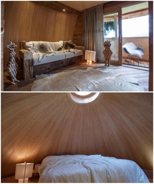 В «пинье» созданы все условия для комфортного и уединенного отдыха (Италия).