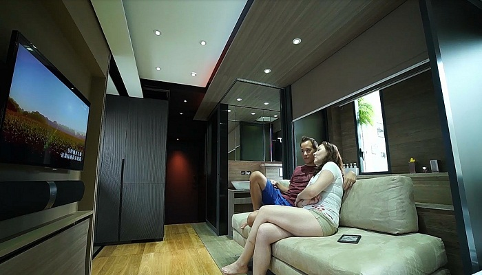 Невероятно удобная квартира площадью 28 кв.м.