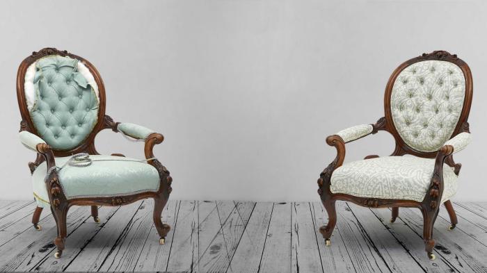 Незначительные повреждения мягкой мебели можно отреставрировать и самому. | Фото: forestvrn.ru.