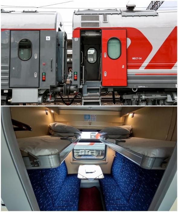Инновационные вагоны уже отправились из Нижнего Новгорода в Санкт-Петербург.
