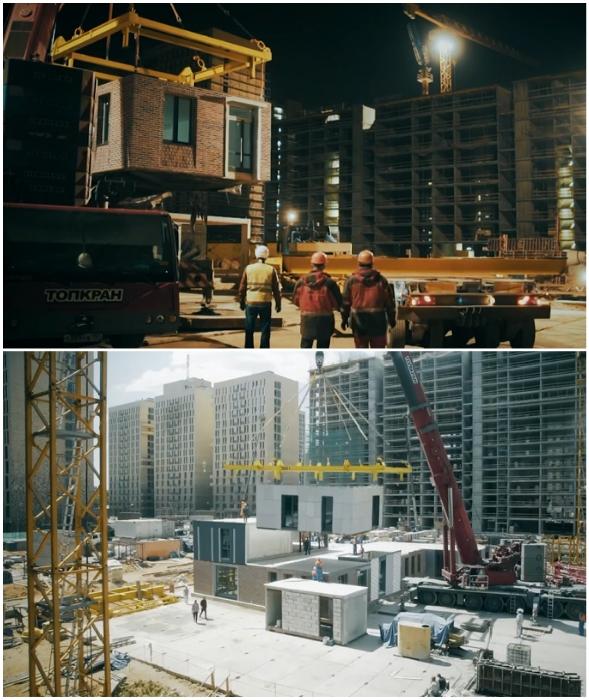 С помощью новых модулей 22-этажный дом получится собрать менее чем за 20 дней!